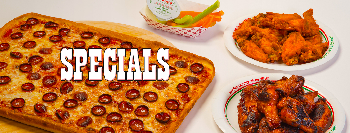 John's Pizza and Subs Specials